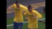 Brazil 2:0 Scotland - Friendly match