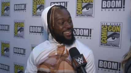 Kofi Kingston basks in BOOM! Studios' New Day graphic novel reveal at SDCC: WWE.com Exclusive, July 19, 2019