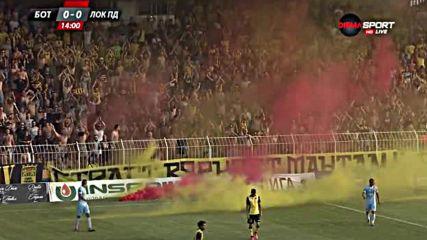 Факли спряха за кратко дербито на Пловдив на
