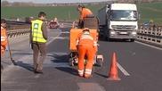 Ограничение с 60 км/ч. по ремонтираните участъци по магистралите