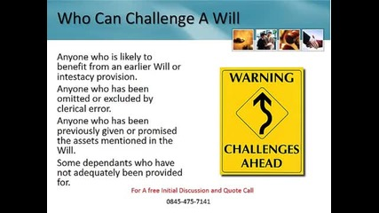 Contesting a Will In the Uk