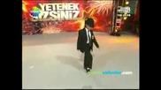 Вие сте талантa Турция - Yetenek Sizsiniz Trkiye - Kaan Bayba Michael Jackson Dance 12.12.2009