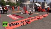 UK: Anti-Gitmo protesters demand release of British detainee Shaker Aamer