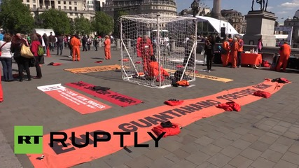 UK: Anti-Gitmo protesters demand release of British detainee Shaker Aamer