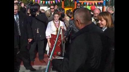 """Премиерът Бойко Борисов откри нова спортна площадка в столичния квартал """"Люлин"""