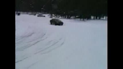 Ауди Quattro На Сняг