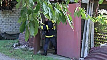 Къща изгоря в Казанлък