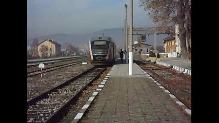 Най-после влак на гара Панагюрище-1