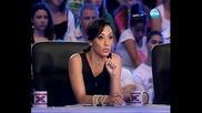 15 годишна участничка напсува журито - X Factor Bulgaria