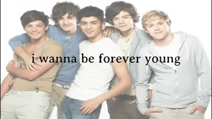 One Direction - Forever Young ( Lyrics + Video)
