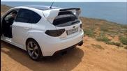 Subaru Wrx Sti Grb Revving and exhaust sound