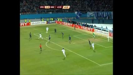 Лига Европа, 10.3.2011, 1/8 Финал, Динамо Киев 2 - 0 Манчестър Сити