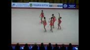 Готини Гимнастички - Ансамбъл Бухалки