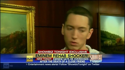 Eminem on Showbiz Tonight