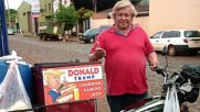 Trump doppelganger's hot dog business booms in Paraguay