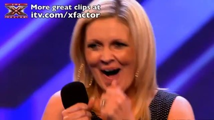 Michelle Barrett's audition - The X Factor 2011