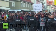 Germany: Anti-refugee NPD rally in Rudolstadt met with counter-protests