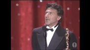 Dustin Hoffman Wins Best Actor- 1989 Oscars - Youtube[via torchbrowser.com]