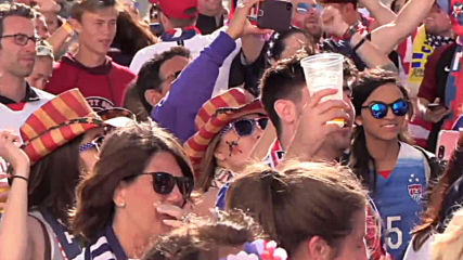 France: Fans of USA and Sweden gear up ahead of WWC match in Le Havre