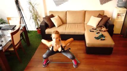 Лесни упражнения трениращи средната част на тялото