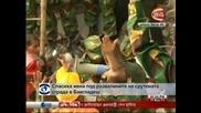 19-годишно момиче е било открито живо 17 дни след рухването на сграда в Бангладеш