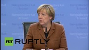 Belgium: 'Assad must be involved in Syria peace talks' - Merkel