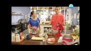Корндог с домашен кетчуп, сарма салата, торта Дъга - Бон Апети (31.05.2013)