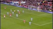 Невижданата ножица на Руни - Ман Юнайтед 2:1 Ман Сити (всички голове)