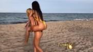 Стания показа божествено тяло по време на фотосесия в Маями