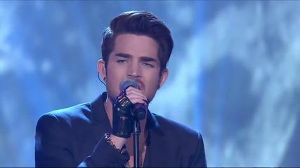 На живо! Adam Lambert - Another Lonely Night ( Swedish Idol 2015 ) + Превод и субтитри