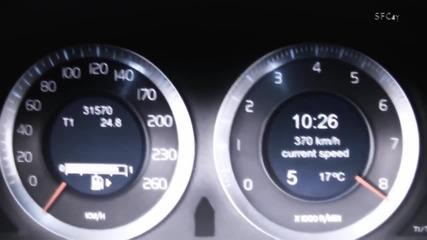 Вижте какво може едно Volvo S60 100 - 383 km/h