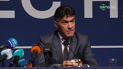 Борислав Михайлов: Изборът е ясен, аз съм президент