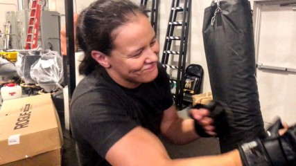 Rapid-fire questions with Shayna Baszler