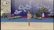 Мария Матева - топка - финал - Световна купа по художествена гимнастика - София 2015