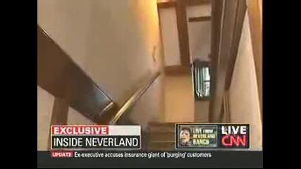 Духът на Michael Jackson(8:20) заснет случайно в интервю в Neverland(цяло)