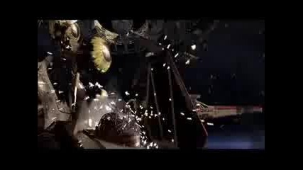 Star Wars Episode 3 Space Battle over Corusant