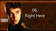 16те песни от албума на Justin Bieber - Believe
