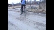 дрифт с колело - част7
