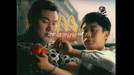 Реклама На Mcdonalds С Японци