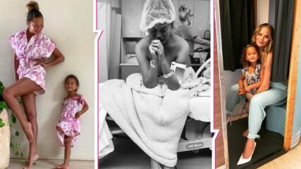 Криси Тейгън наруши мълчанието и разкри защо е качила снимки от аборта си
