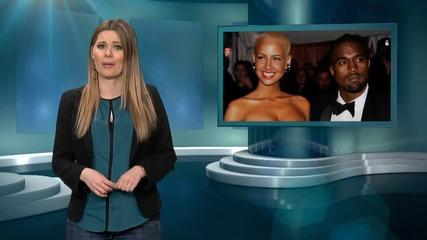 Amber Rose Slut Shamed By Kanye West?