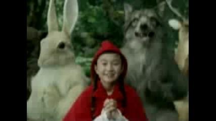 Японска Реклама : Червената Шапчица