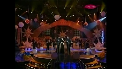 Ceca, Bane i Nikola - Grli, ljubi me - Novogodisnji show - (TV Pink 2007)