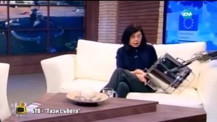 Какво дойде до главата на Меглена Кунева - Господари на ефира (02.02.2015г.)