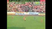 Чиликов вкарва гол за 2:1 Левски Цска
