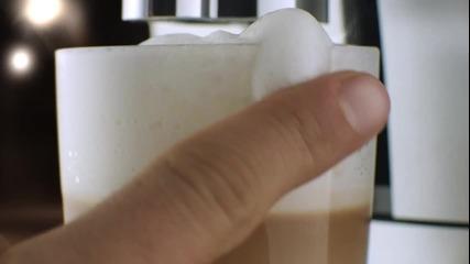 Роджър Федерер - Реклама на кафе машини Jura
