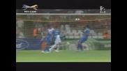 шампионска лига ! шампиона левски пак се провали срещу Дебрецен 0:2 - 25.8.2009 - всички голове Hd