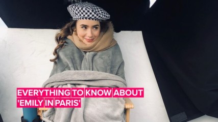 Is Lily Collins the new Carrie Bradshaw... in Paris?!