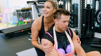 The Miz does pregnant yoga: Miz & Mrs., Feb. 19, 2020