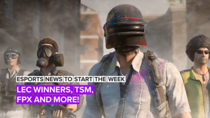 Esports news to start the week: LEC Winners, TSM, FPX and more!